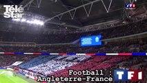 Foot Angleterre-France : la Marseillaise chantée dans le stade de Wembley