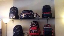 Idées cadeaux Noël Cartable sac à dos sac de voyage trousse scolaire chez s'cale boutik maroquinerie bagage 28 av auber nice France