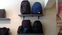 Cartable sac à dos sac de voyage trousse scolaire QUIKSILVER chez s'cale boutik maroquinerie bagage 28 av auber nice France