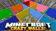 Minecraft CRAZY WALLS BEST MINI-GAME EVER?! #1 | w/ PrestonPlayz