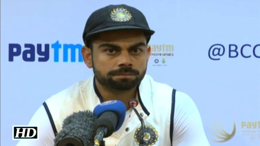 IND vs SA 2nd Test Virat Kohli Reacts as the Match Washed Out