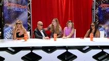 Heidi Klum, Mel B & Howie Mandel Play a Wax Figure Prank - Americas Got Talent 2015