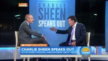 Charlie Sheen just revealed he's HIV Positive