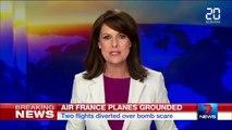Alerte à la bombe sur deux vols Air France déroutés aux États-Unis
