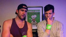 Matthew Lewis and Scott Hoatson promotes Anthony Lewis' Sponsored Silence
