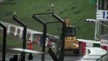 Jules Bianchi gp f1 Suzuka accident crash . video sensible .. sa naurais jamais du arrive