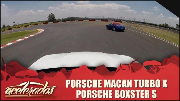 Porsche Macan Turbo x Porsche Boxster S