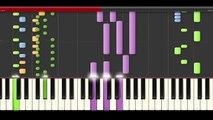 David Guetta Bang My Head Sia Piano Midi karaoke cover for remix dj
