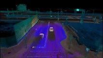 3D Map of Fusion Hybrid Autonomous Research Vehicle