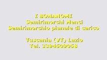 Semirimorchio ribaltabile Menci Alluminio- 334 q.li