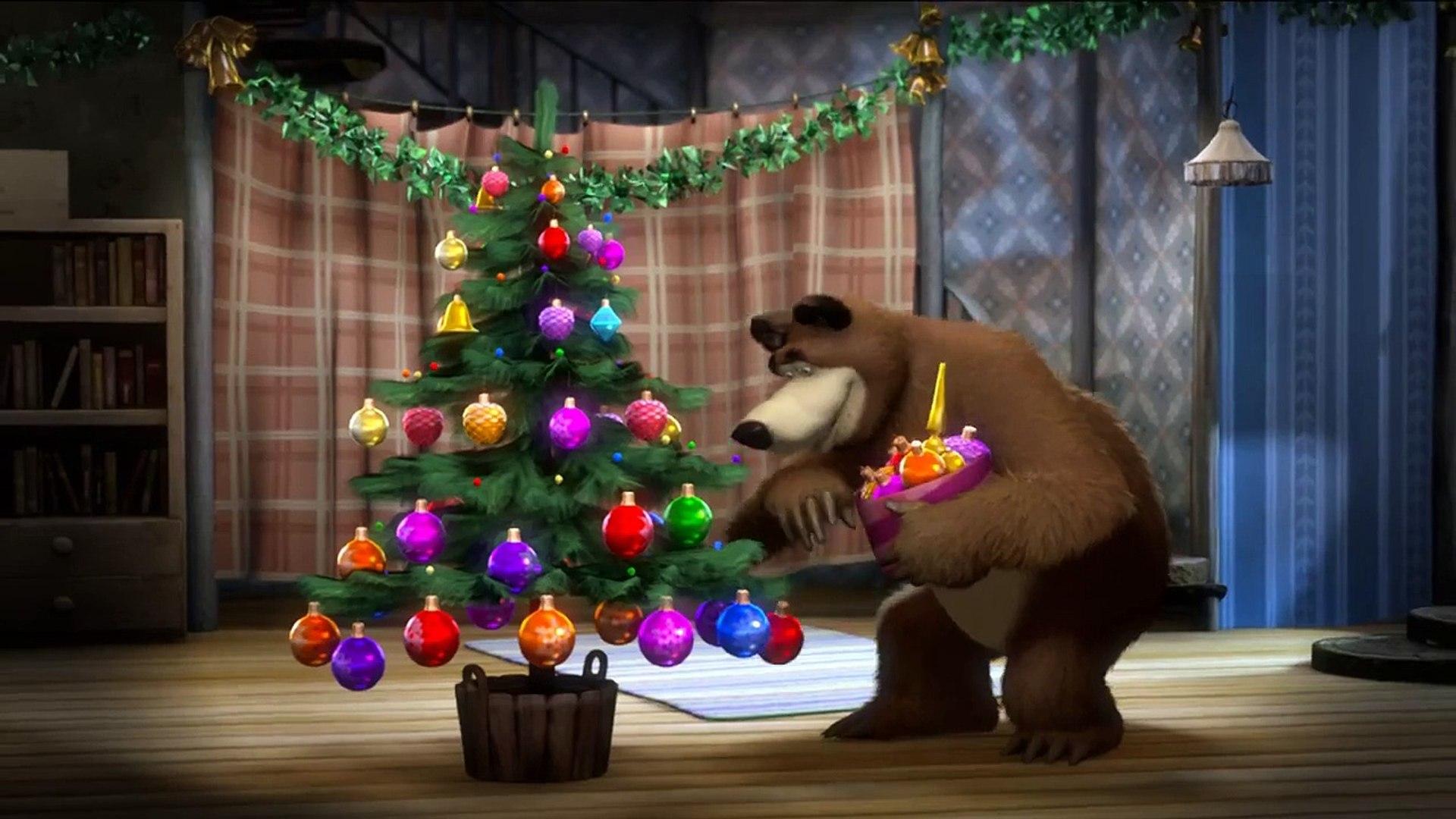 Маша и медведь серия поздравления с новым годом