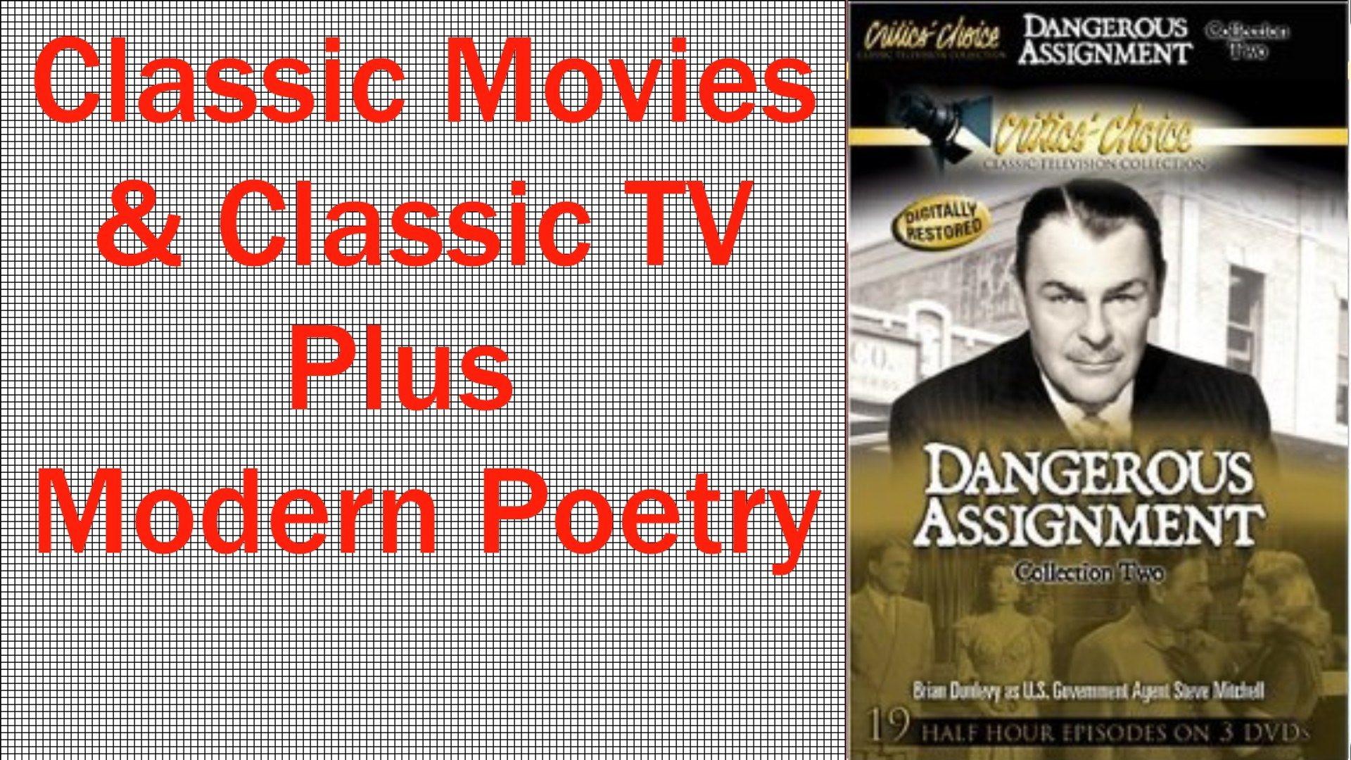 Dangerous Assignment-The Stolen Letter-Classic Movies and TV
