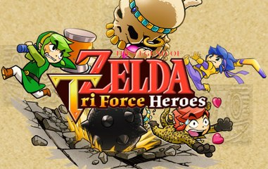 The Legend of Zelda : Triforce Heroes | Conference and Gameplay HD 1080p 30fps - E3 2015
