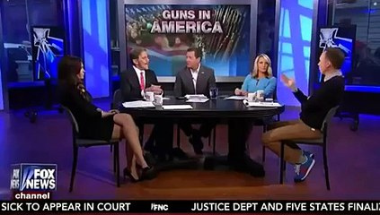 Fox's Bolling, Geraldo Fight Over Gun Background Checks: It Hurts Poor People!