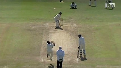 watch Waqar Younis cleans up Graham Thorpe