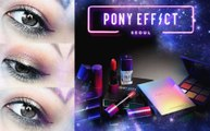 Pony Effect Seoul Makeup Tutorial (Eyeshadow Palette, Contour Palette, & Lipsticks)