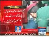 Gujranwala - Clash between PML-N & PTI Workers , PTI Worker injured