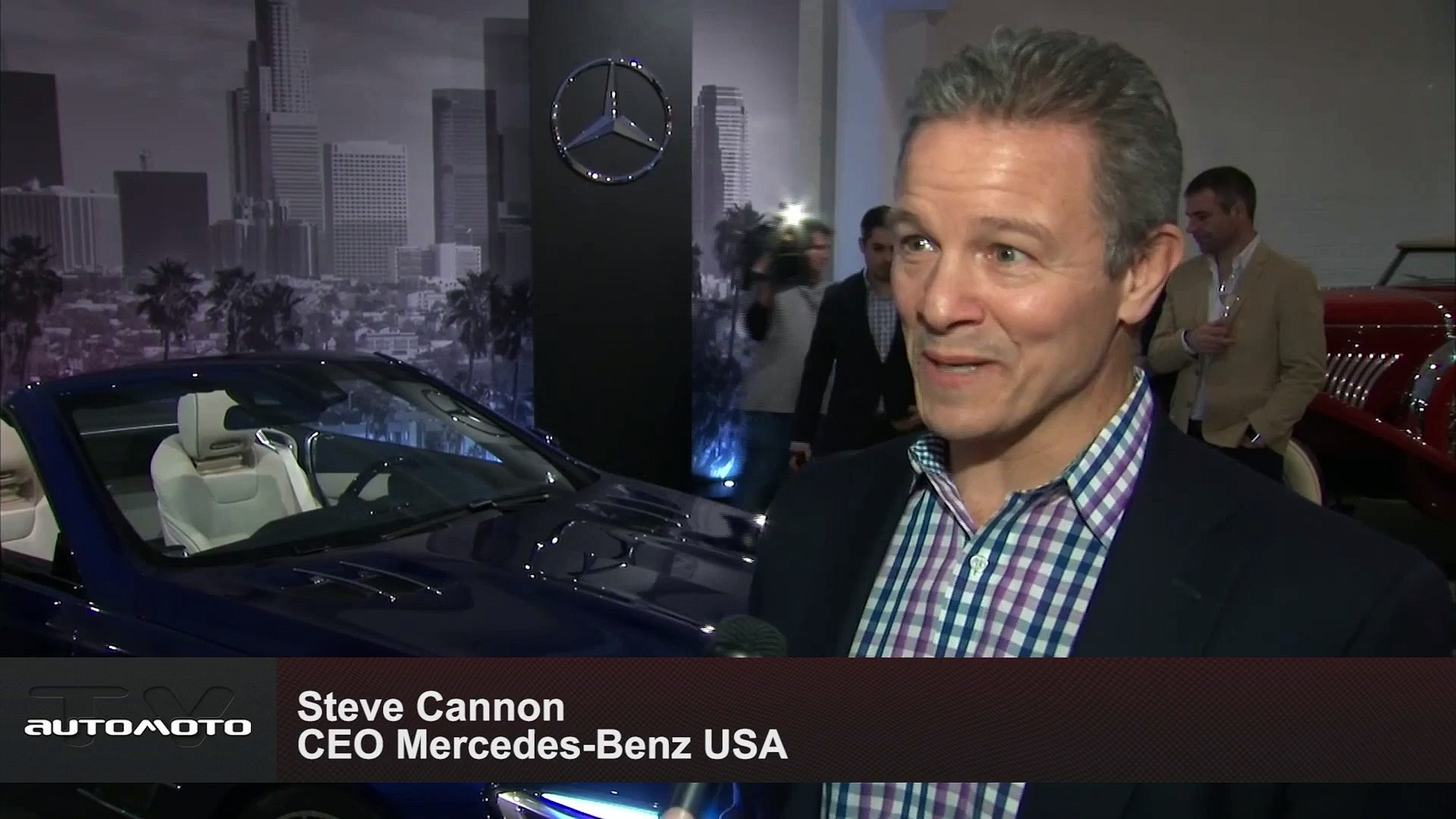 World Premiere Mercedes-Benz SL - Los Angeles Auto Show 2015 Steve Cannon CEO Mercedes-Benz USA