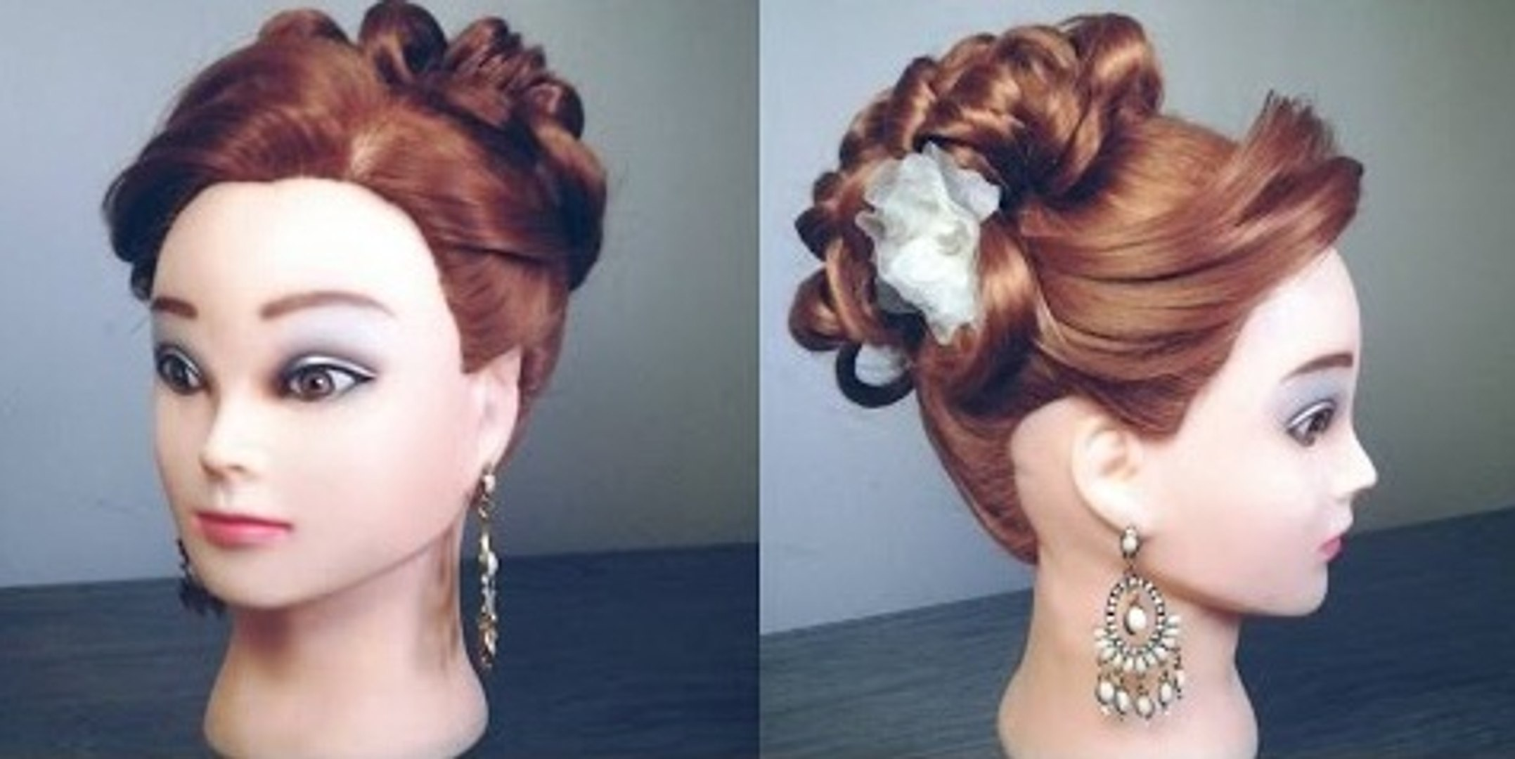 traditional wedding bun hairstyle