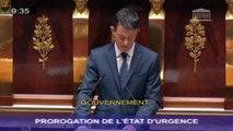 """Valls n'exclut pas """"le risque d'armes chimiques et bactériologiques"""""""