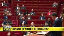 """Attentats : Manuel Valls avertit sur le """"risque d'armes chimiques et bactériologiques"""""""