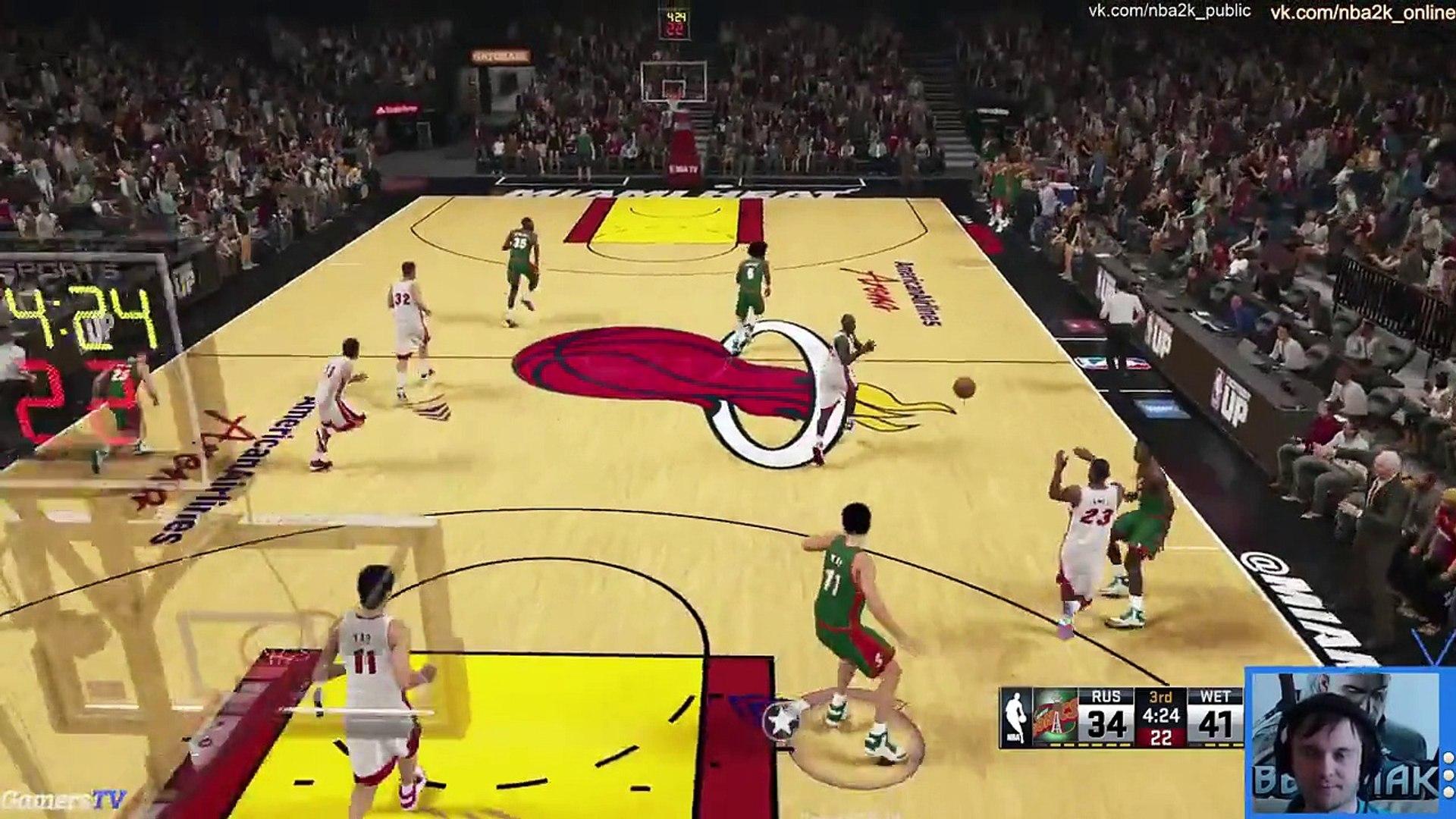 NBA 2K15 My Team лучшие онлайн матчи часть 4 Сумашедший Вагер на 8К