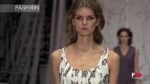 ALEXANDRA VANUSHINA Mercedes-Benz Fashion Week Russia Spring 2016 by Fashion Channel