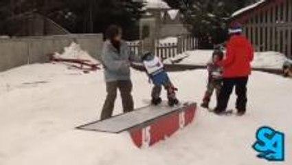 Burton Learn To Ride Meets Snowboard Addiction