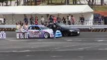 Japan Driver makes Drifts with Tesla Electric Car!