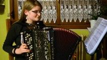 Alexia Duhamel, championne d'Europe d'accordéon à 12 ans
