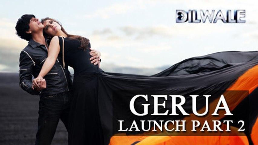 Gerua Song Launch | Dilwale | Shahrukh Khan, Varun Dhawan, Kajol, Kriti | PART 2