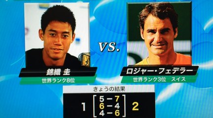 【錦織圭 vs フェデラー ATPワールドツアー・ファイナルズ  】 Kei Nishikori vs R.Federer  ATP World Tour Finals