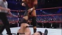 John cena, Randy Orton and triple H in triple treat match wwe championship
