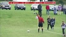 Girls Soccer - Crown Point Panthers vs Westport Eagles 10-24-14 - Score Bug - 1st Half
