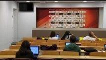 LIVE - Xavi Pascual and Ufuk Sarica post game press conference (FCB Lassa - Pinar Karsiyaka Izmir) (REPLAY) (2015-11-19 23:01:31 - 2015-11-19 23:26:41)