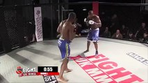 MMA Ref Puts Fighter In Choke Hold