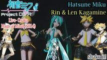 Project DIVA Live- Magical Mirai 2014- Hatsune Miku & Rin & Len Kagamine- shake it! with subtitles (HD)