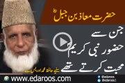 Wo Sahabi Jin Se Huzoor Nabi Kareem Muhabbat Karte Thay By Hafiz Muhammad Idrees
