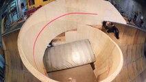 Tony Hawk Skates First-Ever Horizontal Loop! Great Skateboard Trick