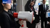 Megaphone translates Japanese automatically into three different languages