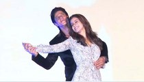 Bollywood King SRK Shahrukh Khan & DDLJ Girl Kajol at Maratha Mandir to launch song Gerua Of Bollywood Movie Dilwale