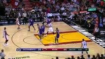Dwyane Wade's Tough Fadeaway Floater _ Kings vs Heat _ November 19, 2015 _ NBA 2015-16 Season