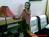 Bengali funny video (Lot of laugh)_Laughing _funny _video__baby_girl_talking_phone