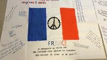 Attentats: les élèves de la MFR s'expriment sur des affiches