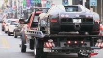 NINE Bugatti Veyrons in Beverly Hills!! Pur Blanc Super Sport, Vitesse, Grand Sport!