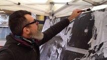 Art urbain à la galerie K au Mans