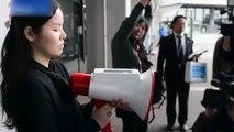 Incredible megaphone translates speech into 3 languages