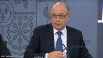 Gobierno impone condiciones de financiación a Cataluña