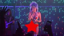 Miley Cyrus Shocks Chicago With Prosthetic Sex Toy Performance