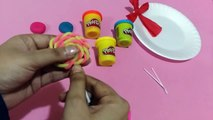 Play Doh Lollipops For Children | How To Make Lollipop | Play Doh Lollipops For Kids
